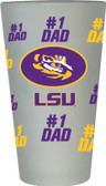 LSU Tigers #1 Dad Pint Glass