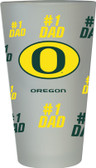 Oregon Ducks #1 Dad Pint Glass
