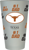 Texas Longhorns #1 Dad Pint Glass