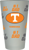 Tennessee Volunteers #1 Dad Pint Glass
