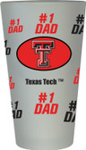 Texas Tech Red Raiders #1 Dad Pint Glass