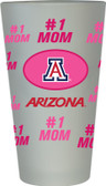 #1 Mom Pint Glass Arizona Wildcats