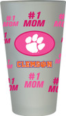 Clemson Tigers #1 Mom Pint Glass