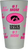 Iowa Hawkeyes #1 Mom Pint Glass