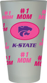 Kansas State Wildcats #1 Mom Pint Glass