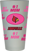 Louisville Cardinals #1 Mom Pint Glass