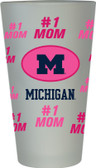 Michigan Wolverines #1 Mom Pint Glass