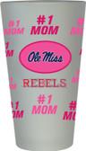 Ole Miss Rebels #1 Mom Pint Glass