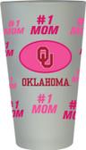 Oklahoma Sooners #1 Mom Pint Glass