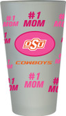 Oklahoma State Cowboys #1 Mom Pint Glass
