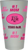 Texas A&M Aggies #1 Mom Pint Glass
