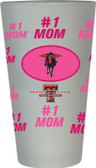 Texas Tech Red Raiders #1 Mom Pint Glass