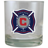 Chicago Fire 8.45oz Rocks Glass