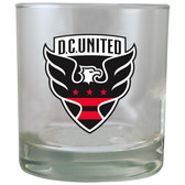 D.C. United 8.45oz Rocks Glass