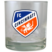 Cincinnati FC 8.45oz Rocks Glass