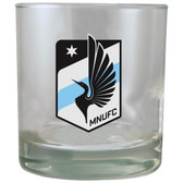 Minnesota United 8.45oz Rocks Glass