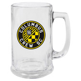 Columbus Crew Glass Stein