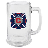 Chicago Fire Glass Stein