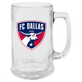 Dallas FC Glass Stein