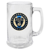 Philadelphia Union Glass Stein