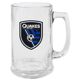 San Jose Earthquakes Glass Stein