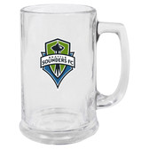 Seattle Sounders FC Glass Stein