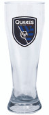 San Jose Earthquakes Glass Pilsner