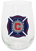 Chicago Fire 15oz Stemless Wine Glass