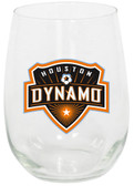 Houston Dynamo 15oz Stemless Wine Glass