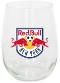 New York Red Bulls 15oz Stemless Wine Glass