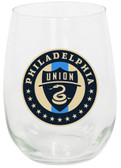 Philadelphia Union 15oz Stemless Wine Glass