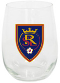 Real Salt Lake 15oz Stemless Wine Glass