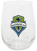 Seattle Sounders 15oz Stemless Wine Glass