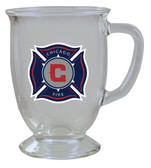 Chicago Fire 16oz Kona Glass