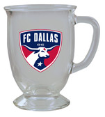 Dallas FC 16oz Kona Glass
