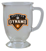 Houston Dynamos 16oz Kona Glass
