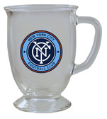 New York FC 16oz Kona Glass
