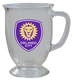 Orlando City SC 16oz Kona Glass