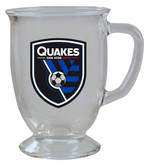 San Jose Earthquakes 16oz Kona Glass