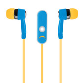 Mizco NFL San Diego Chargers Hands-Free Earbuds