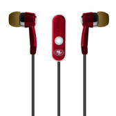 Mizco NFL San Francisco 49ers Hands-Free Earbuds