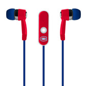 Mizco NHL Montreal Canadiens Stereo Hands Free Earbuds