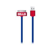 Mizco NFL Buffalo Bills Apple 30-Pin Cable