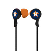 Houston Astros Armor Stereo Hands free Earbuds