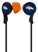 Mizco NFL Denver Broncos Armor Stereo Handsfree Earbuds