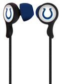 Mizco NFL Indianapolis Colts Armor Stereo Handsfree Earbuds