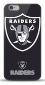 Mizco NFL Oakland Raiders iPhone 6 Oversized Snap Back Case