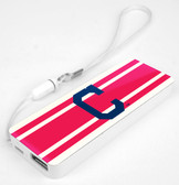 Mizco MLB Cleveland Indians 3K Slim Power Bank Powerbar