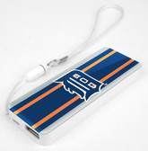 Mizco MLB Detroit Tigers 3K Slim Power Bank Powerbar