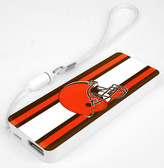Mizco NFL Cleveland Browns 3K Slim Power Bank Powerbar